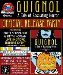 GUIGNOL Book One Official Release Party - 10/03/2015