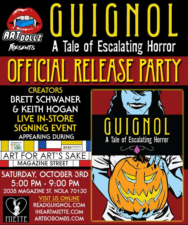 Guignol Release Party