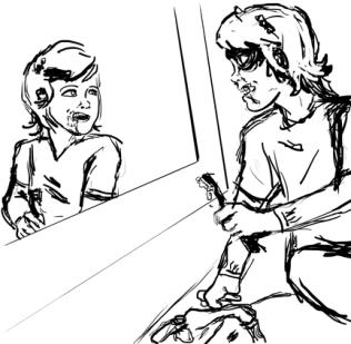Concept Sketch by Keith Hogan