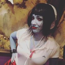Art Dollz model Elli is the first person to ever cosplay as GUIGNOL's villain, Lilly Langtree.